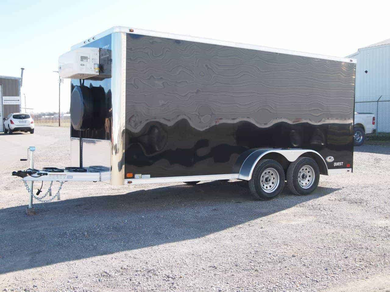 7x16, Refrigerated Cargo Trailer, Custom Trailer, MO Great Dane, ATC