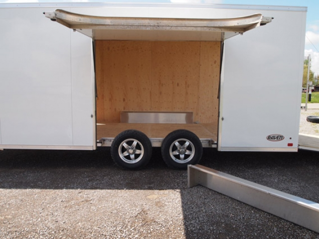 Custom Trailer, Car Hauler, Spor Bumper Pull Race, 8.5x20 ATC