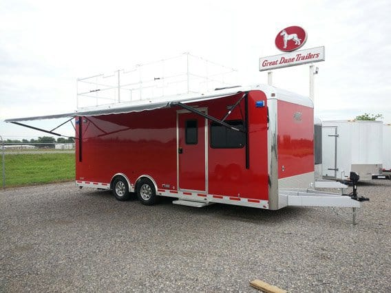 Emergency Management - Mobile Command - 8.5x24 Command Response Trailer