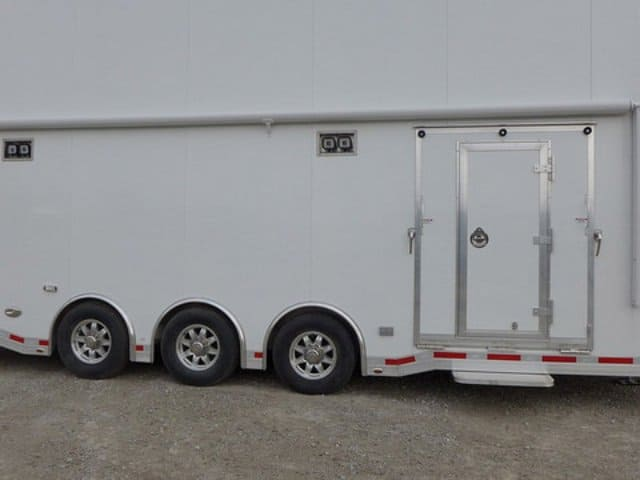 8.5x26, ATC, Aluminum Stacker Trailer, Car Hauler, Custom Trailer