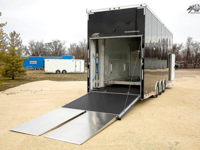 8.5x28, ATC, Aluminum Stacker, Race Trailer, Custom Trailer