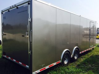 32ft, Enclosed Gooseneck, Cargo Trailer, Tapered Nose, Gooseneck Trailer, Custom Trailer, MO Great Dane