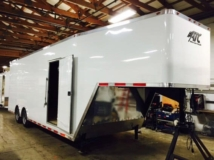 8.5x32, 32 ft, Gooseneck Trailer, Cargo Trailer, Ramp Door, Custom Trailer, MO Great Dane