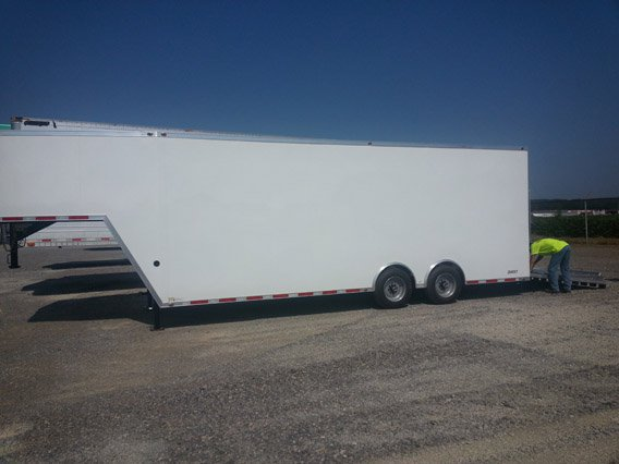 8 5x32 Gooseneck Cargo Trailer Ramp Door Mo Great Dane