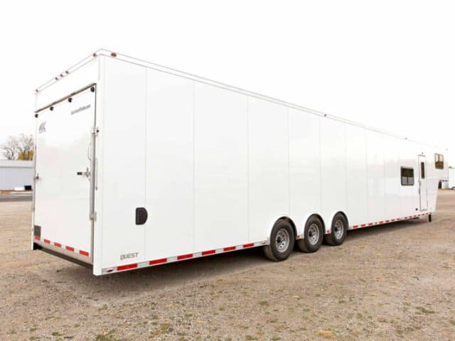 53ft, Race Trailer, Living Quarters, Car Hauler, Custom Trailer, MO Great Dane