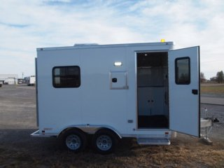 8x12 Trailer, Aluminum Trailer, Fiber Optic Trailer, In Stock Trailer, MO Great Dane
