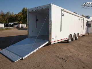 Custom Trailers, Car Hauler, Sport, Race, with Living Quarters, ATC,14 ft