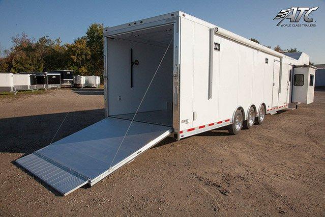 Custom Trailers, Car Hauler, Sport, Race, with Living Quarters, ATC,14 ft
