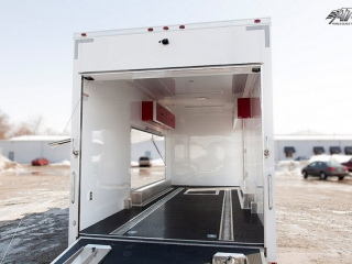 Custom Trailers, Car Hauler, Sport, Race, with Living Quarters, ATC