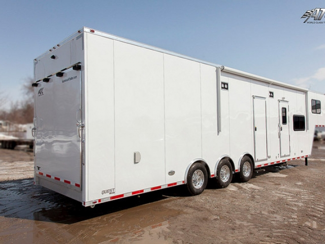 Custom Trailers, Car Hauler, Sport, Race, with Living Quarters, ATC