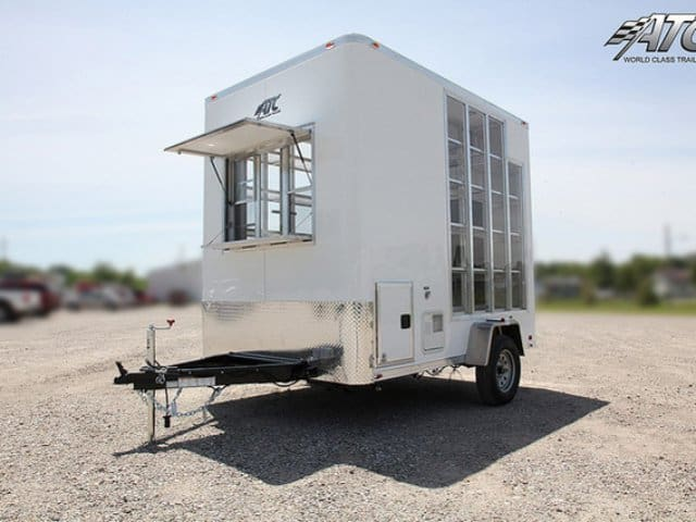 ATC, Cupcake Vending, Display Trailer, Mobile Marketing, Product Display Trailer, Custom Trailer, Mo Great Dane