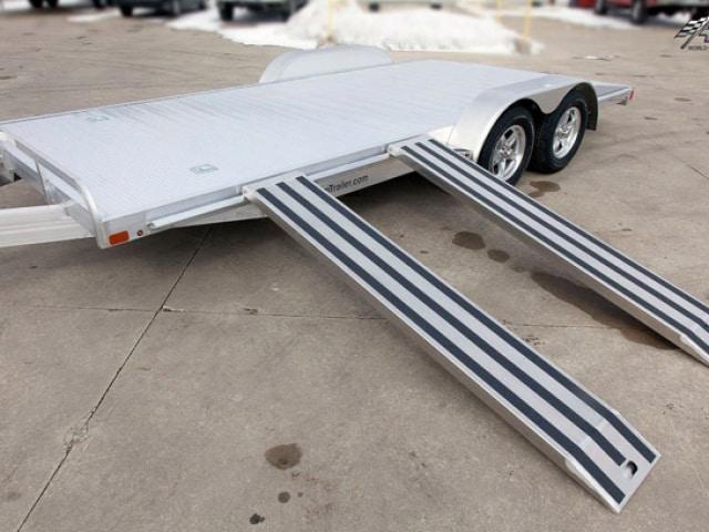 Custom Trailer, Car Hauler, Sport, Flatbed, ATC Flatbed, Aluminum