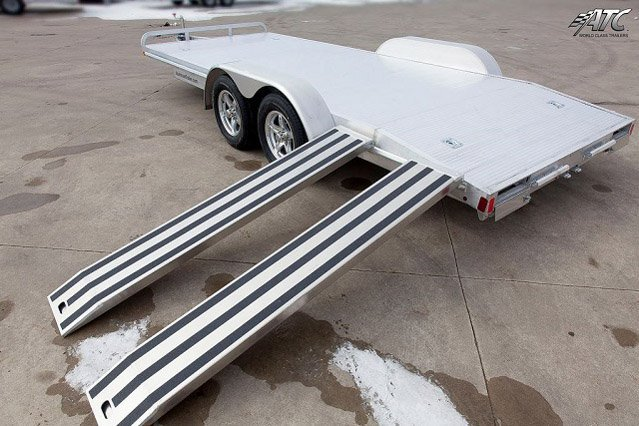 Atc Flatbed Aluminum Car Hauler Mo Great Dane Trailers