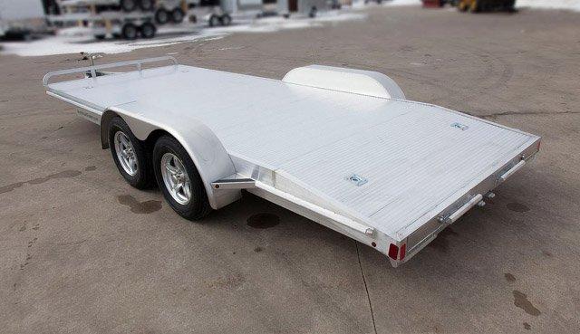 Aluminum Car Trailers : Atc flatbed aluminum car hauler mo great dane trailers