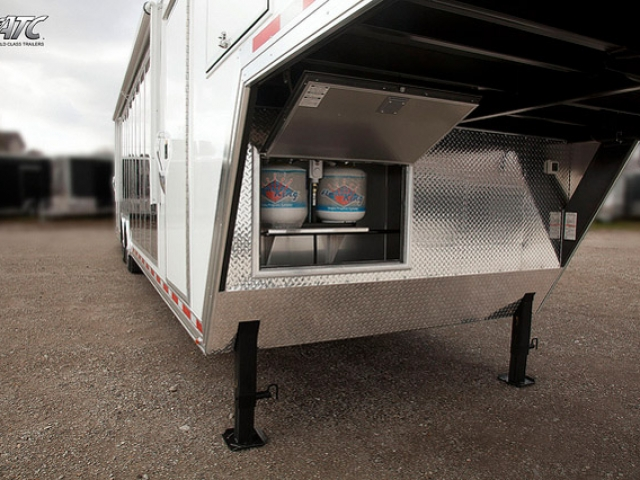 Custom Trailers, Car Hauler, Sport, Gooseneck Race, ATC Car Display