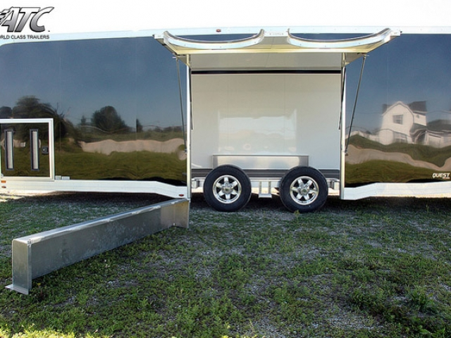 Custom Trailers, Car Hauler, Sport, Bumper Pull Race, ATC Quest CH305 Trailer
