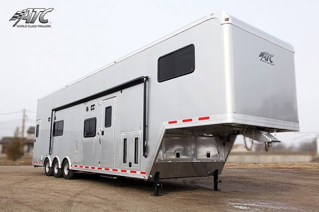 Atc Stacker Trailer With Living Quarters Mo Great Dane