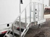 ATP Steps with Platform, Door Accessories, Custom Trailer Options