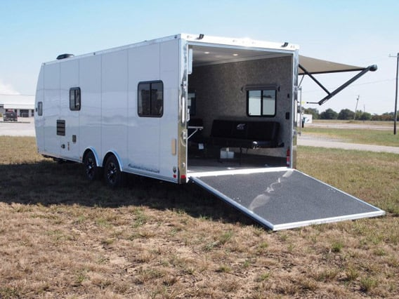Aerodynamic Command Response Trailer