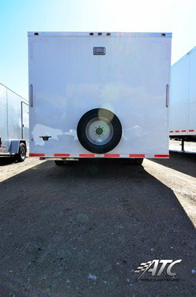 Custom Trailers, Commercial Custom Trailers, Air Force Enclosed Cargo Trailer