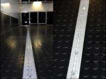 Airline track floor recessed, Tie Down, Custom Trailer, Options
