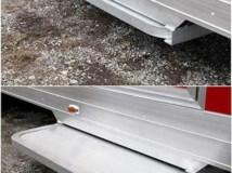 Aluminum Door Step, Door Accessories, Custom Trailer Options