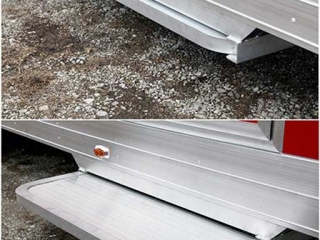 Aluminum Door Step, Door Accessories, Custom Trailer Options