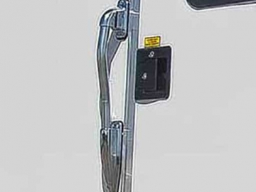 Aluminum Grab Handle, Door Accessories, Custom Trailer Options