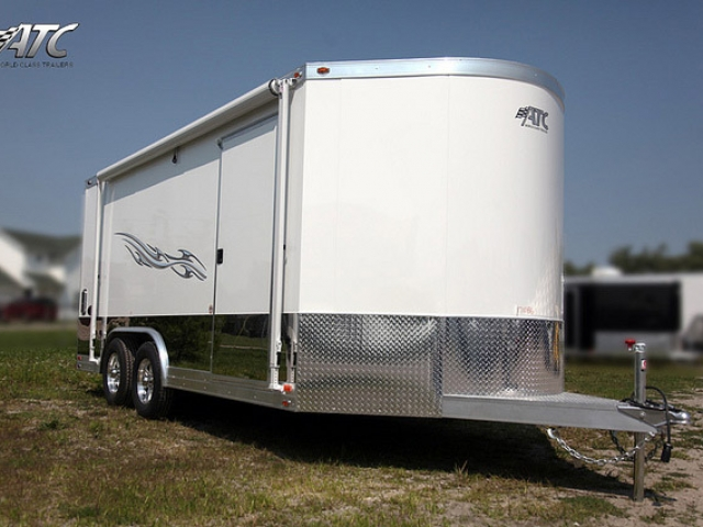 Custom Trailers, Car Hauler, Sport, Motorcycle, Aluminum, SS Series