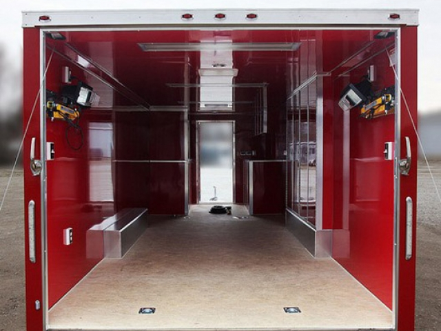 Any Color, Aluminum Walls and Ceiling, Interior, Walls, Ceiling, Custom Trailer, Options