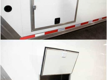 Baggage Doors, Custom Trailer Options