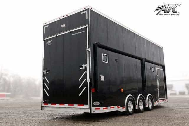 Black ATC Car Hauler Stacker