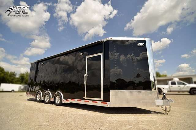 ATC Aluminum V-Nose Race Trailer