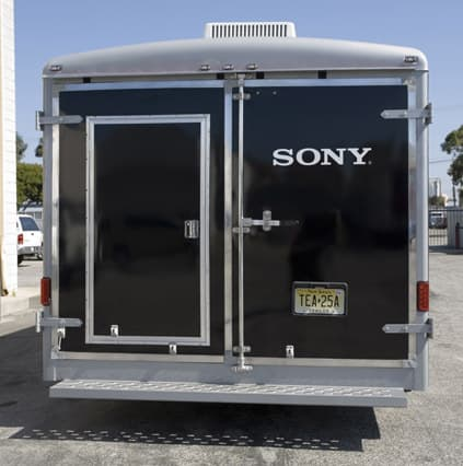 Broadcasting Trailers, Bumper Pull Video Production Trailer