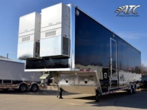 Broadcasting TV Production Trailer, Broadcasting Trailers, 40 ft TV Production Trailer