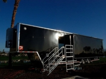 Broadcasting TV Production Trailer , Broadcasting Trailers, 40 ft TV Production Trailer