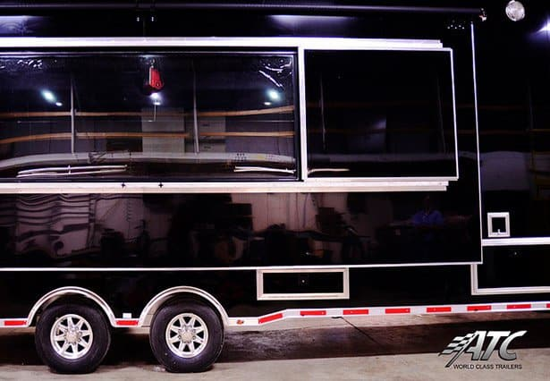 Broadcasting TV Production Trailer ,Broadcasting Trailers, 40 ft TV Production Trailer