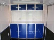 Custom Cabinet Colors, Storage, Custom Trailer Options