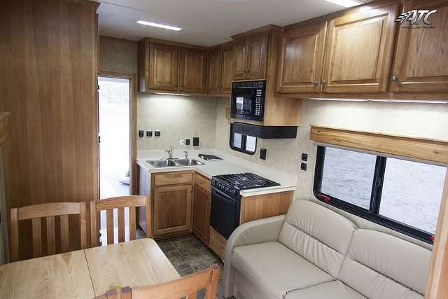 Race Trailer with Living Quarters