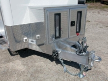 Custom, Chicago, Aluminum, Fiber, Optic, Trailer