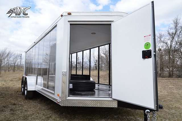 Clear Enclosed ATC Trailer