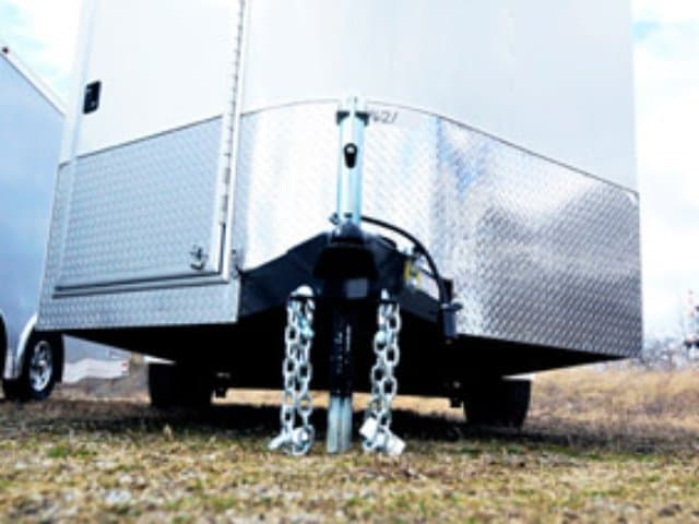Clear, Enclosed ATC Trailer, Bumper Pull, Race Trailer, Car Hauler, Custom Trailer, Mo Great Dane