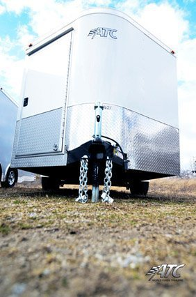Clear, Enclosed ATC Trailer, Bumper Pull, Race Trailer, Car Hauler, Custom Trailer, Mo Great Dane