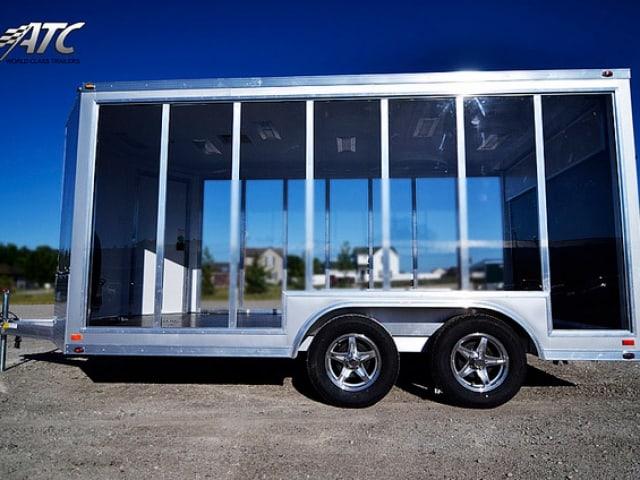 Custom Trailers, Car Hauler,Sport, Motorcycle, Clear Display
