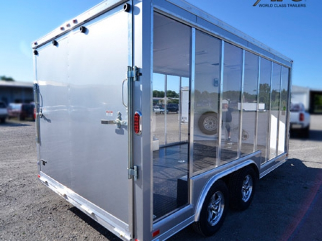 Custom Trailers, Car Hauler,Sport, Motorcycle, Clear Display