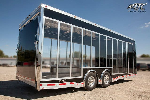 Clear Side Vehicle Display Car Trailer Mo Great Dane