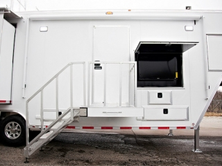 Cutom Trailers, Emergency Management, Mobile, Command Center, Telescoping Camera