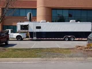 Custom Trailers, Emergency Management, Communications, Corp of Engineers, Satellite