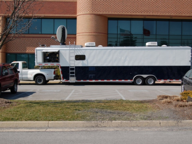 Custom Trailers, Emergency Management, Communications, Corp of Engineers, Satellite