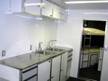 Counter Sinks, Kitchen, Bath, Plumbing, Cutom Trailer, Options